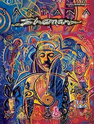 MUSIC SALES LTD - Guitare- tablature - Santana - Shaman
