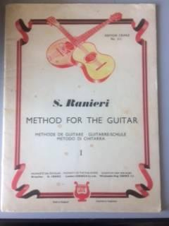 S. RANIERI - METHOD FOR THE GUITAR 1 - N°813 - METHODE DE GUITARE - GUITARRE-SCHULE - METODO DI C...