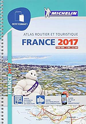 Atlas France Petit Format Michelin 2017
