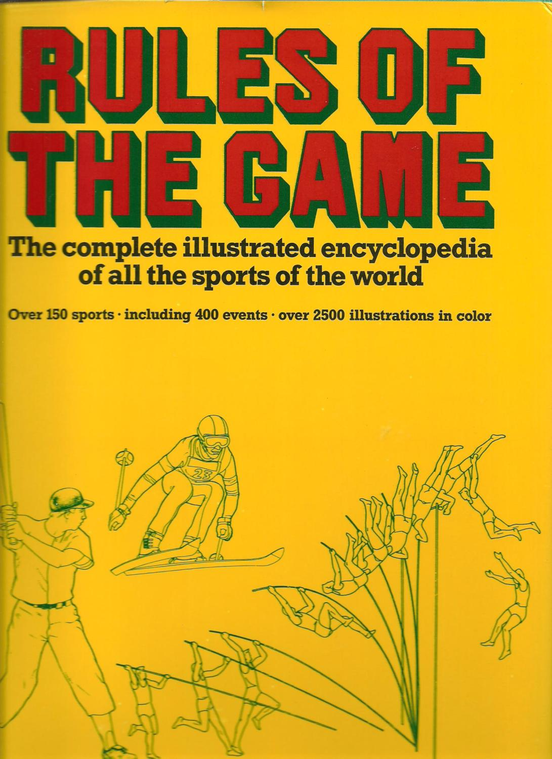 Rules Of The Game Book