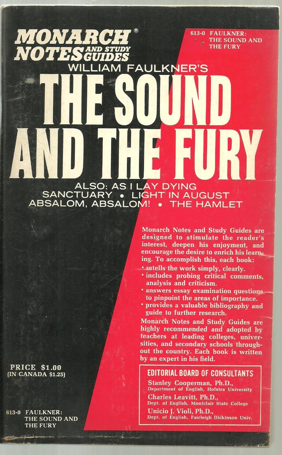 the sound and the fury analytical essay Should deaf children be given cochlear implants so that they can grow up as hearing people in the shattering new documentary sound and fury, peter.