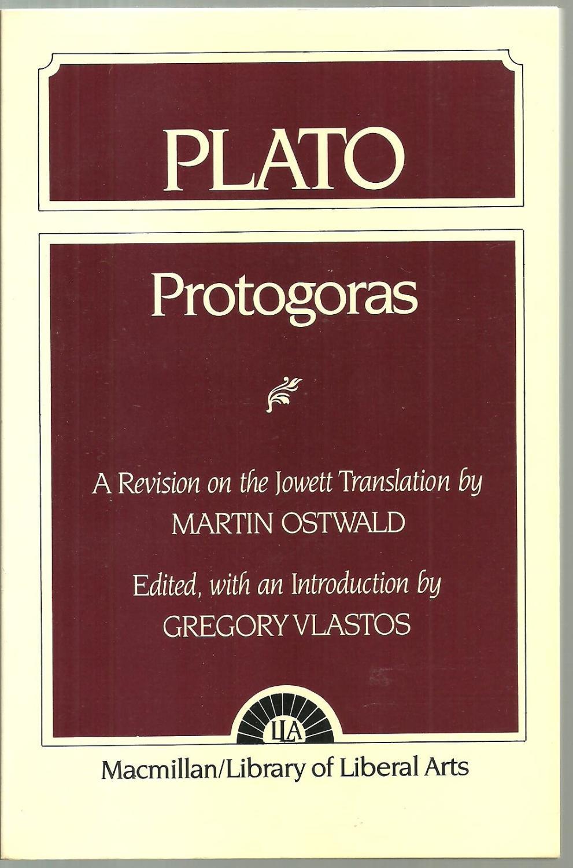 Plato Protogoras: Protagoras