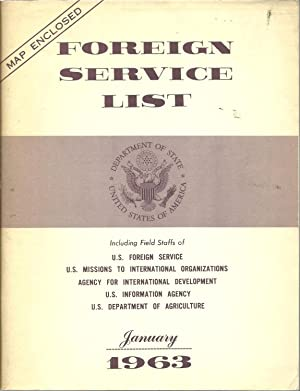Foreign Service List, January 1963