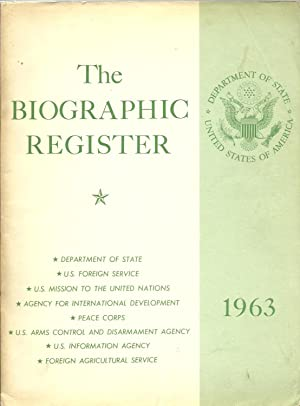 The Biographic Register 1963