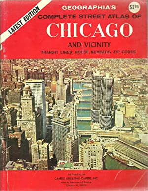 Geographia's Complete Street Atlas of Chicago and Vicinity