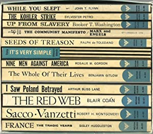 One Dozen Candles: The Americanist Library (12 titles in a slipcase)