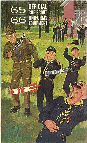 Official Cub Scout Uniforms Equipment 65-66