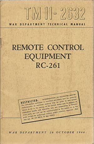 Remote Control Equipment RC-261