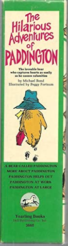 The Hilarious Adventures of Paddington, 5 Volume Set in Slipcase: Michael Bond