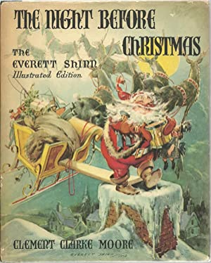 The Night Before Christmas The Everett Shinn Illustrated Edition, Moore, Clement Clarke