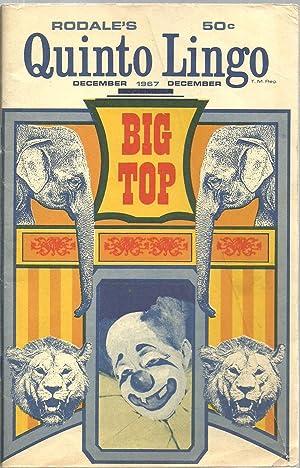 Rodale's Quinto Lingo - Big Top, December 1967