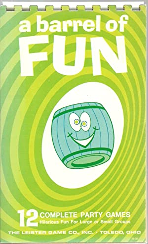 a barrel of Fun - 12 Complete Party Games N-30