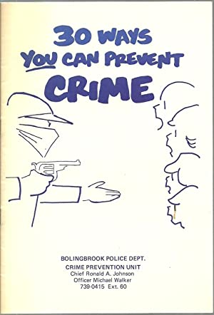 30 ways you can prevent Crime