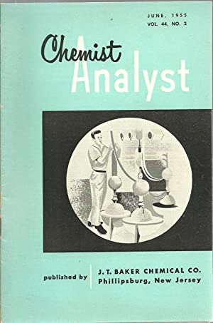 Chemist Analyst Booklet (53 assorted issues)