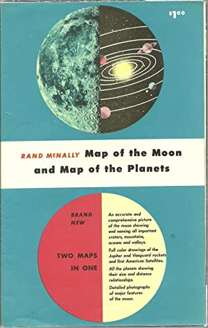 Map of the Moon and Map of the Planets