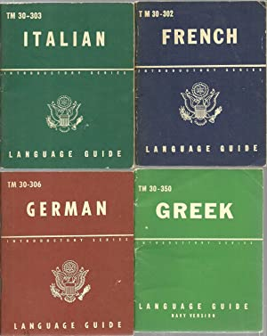 Language Guide: Greek, German, French, Italian (4 assorted volume set)