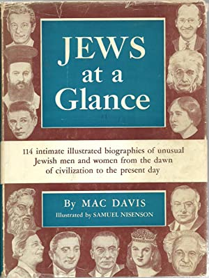 Jews at a Glance: 114 intimate illustrated biographies of unusual Jewish men and women from the ...