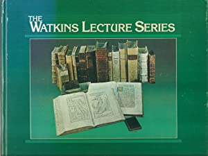 The Watkins Lecture Series: Editors: Peter T. Zellor and Kelley Massey