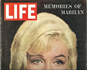 LIFE Magazine, Memories of Marilyn - August 17, 1962, Single Issue