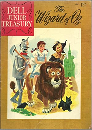 The Wizard of Oz - Dell Junior Treasury, No. 5 July 1956