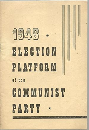 1948 Election Platform of the Communist Party