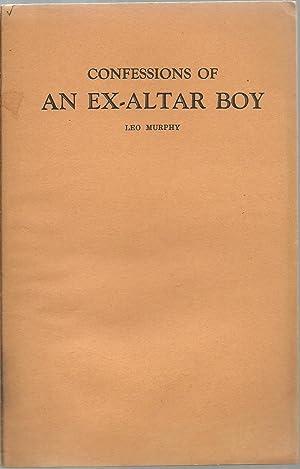 Confessions of An Ex-Altar Boy: Leo Murphy