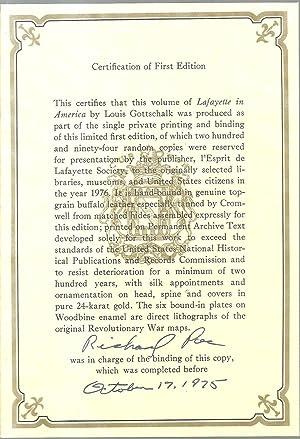Lafayette In America: Louis Gottschalk