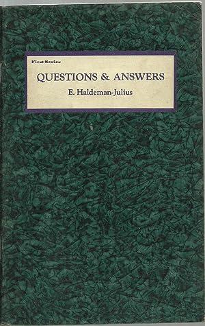 Questions & Answers - 26 Volume set: E. Haldeman-Julius