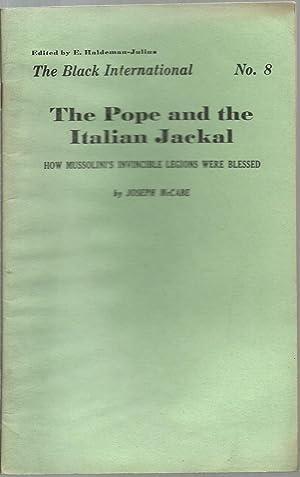 The Black International 10 Volume set (missing Volumes 2 & 6): Edited by E.Haldeman-Julius