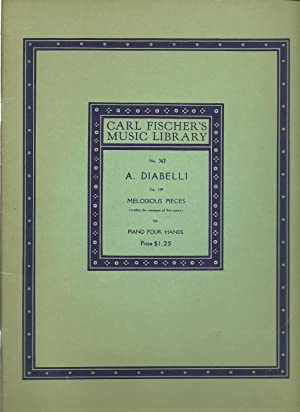 A. Diabelli, Op. 149 Melodious Pieces (within the compass of five notes) for Piano Four Hands