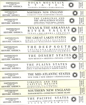 The Smithsonian Guide To Historic America - 12 Volume Set