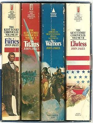 The Kent Family Chronicles - 4 Volume set, in slipcase: John Jake
