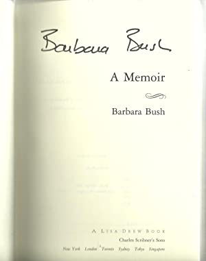 A Memoir: Barbara Bush