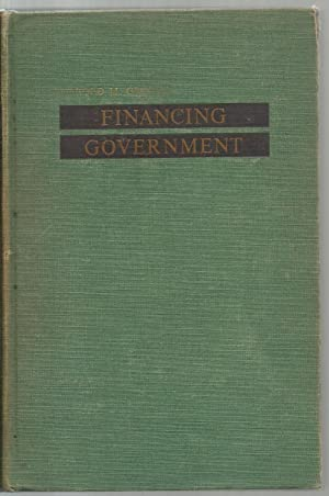 Financing Government: Harold M. Groves