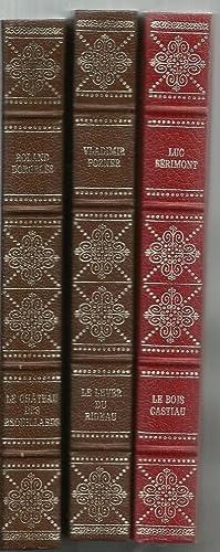 le lever du rideau / Le Bois Castiau / le chateau des brouillards (3 assorted volume set)...