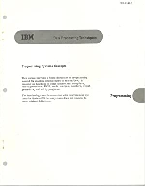 IBM Manuals - 7 Assorted Volumes