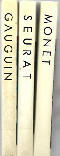 The Library of Great Painters - 3 Assorted Volumes (Monet, Seurat, Gauguin)