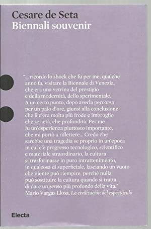 Cesare de seta, Biennali souvenir