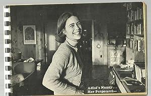 Adlai's Nancy.Her Potpourri: Edited by Sally Shorey