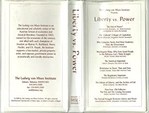 Liberty Vs. Power