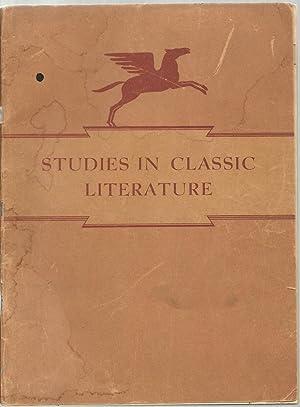 Studies In Classic Literature