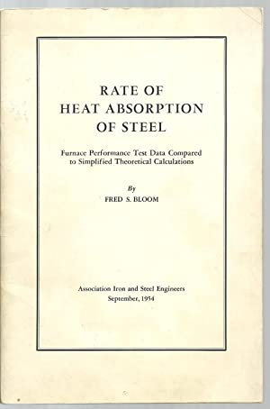 Rate of Heat Absorption of Steel, Furnace Performance Test Data Compared to Simplified Theoretical ...