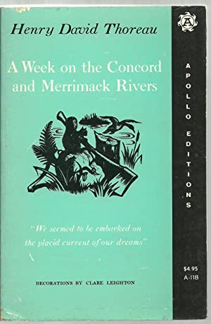 A Week on the Concord and Merrimack Rivers: Henry David Thoreau