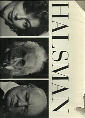 Halsman Portraits - SIGNED COPY: Selected and edited