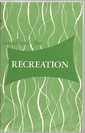 handbook for Recreation