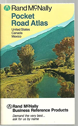 Rand McNally Pocket Road Atlas - United States, Canada, Mexico