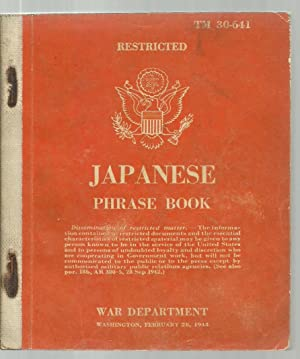 Japanese Phrase Book, TM 30-641