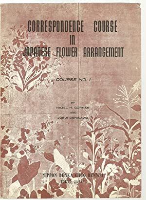 Correspondence Course in Japanese Flower Arrangement - Set