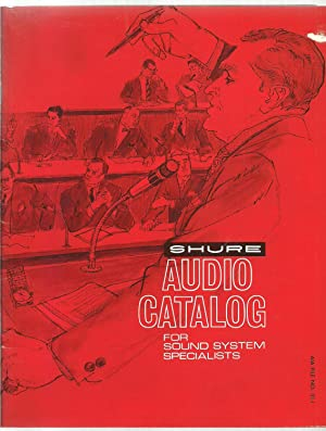 Shure Audio Catalog, For Sound System Specialists