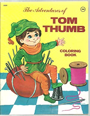 Coloring Book - 3 Assorted Volumes Set: Rumpel Stiltskin, Robinson Crusoe, The Adventures of Tom ...